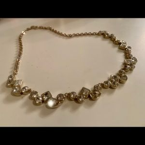 Loft jeweled statement necklace